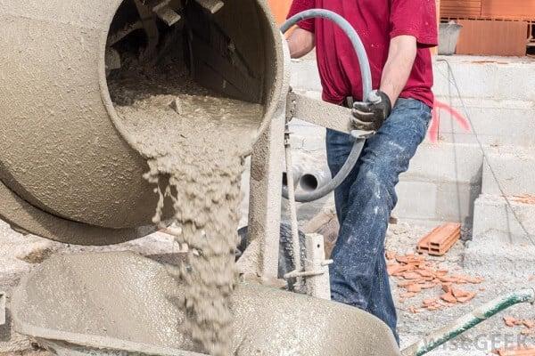 Những lưu ý khi sử dụng máy trộn bê tông