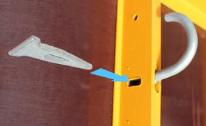 Ứng dụng chốt A vào coppha panel