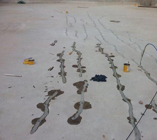 Xử lý bề mặt sàn trước khi sơn epoxy